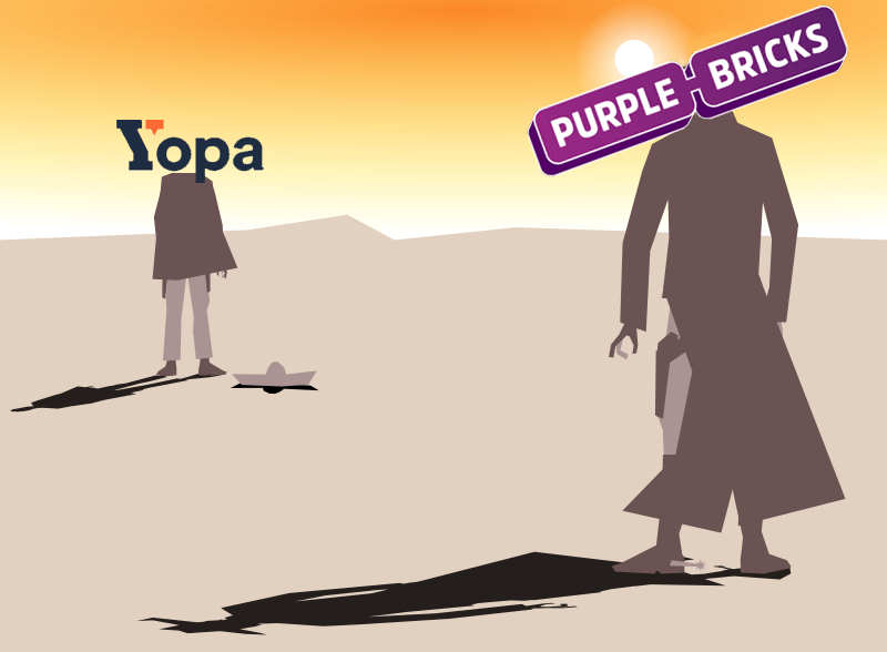 An accurate representation of the situation between Yopa and Purple Bricks